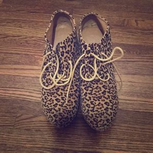 Shoes - Cheetah platforms